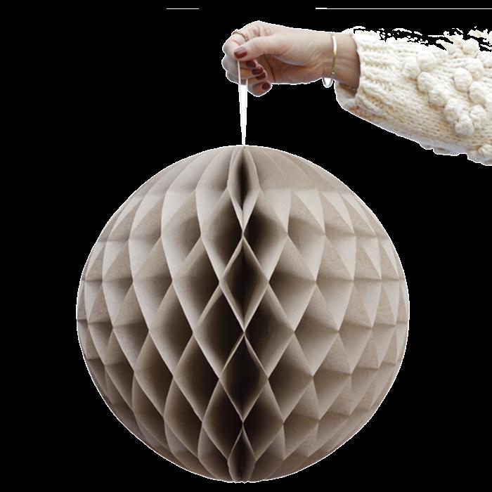 Zandkleur Honingraat Ballen-1