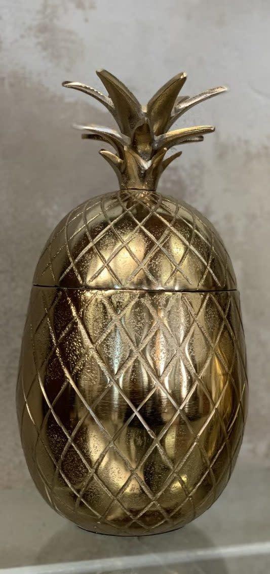 Opbergpot Ananas Goud-1