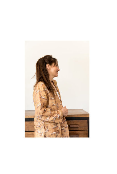 Kimono Envolée Caramel
