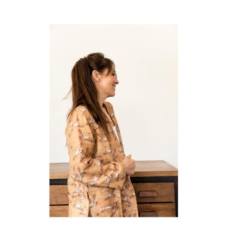 Kimono Envolée Caramel-1