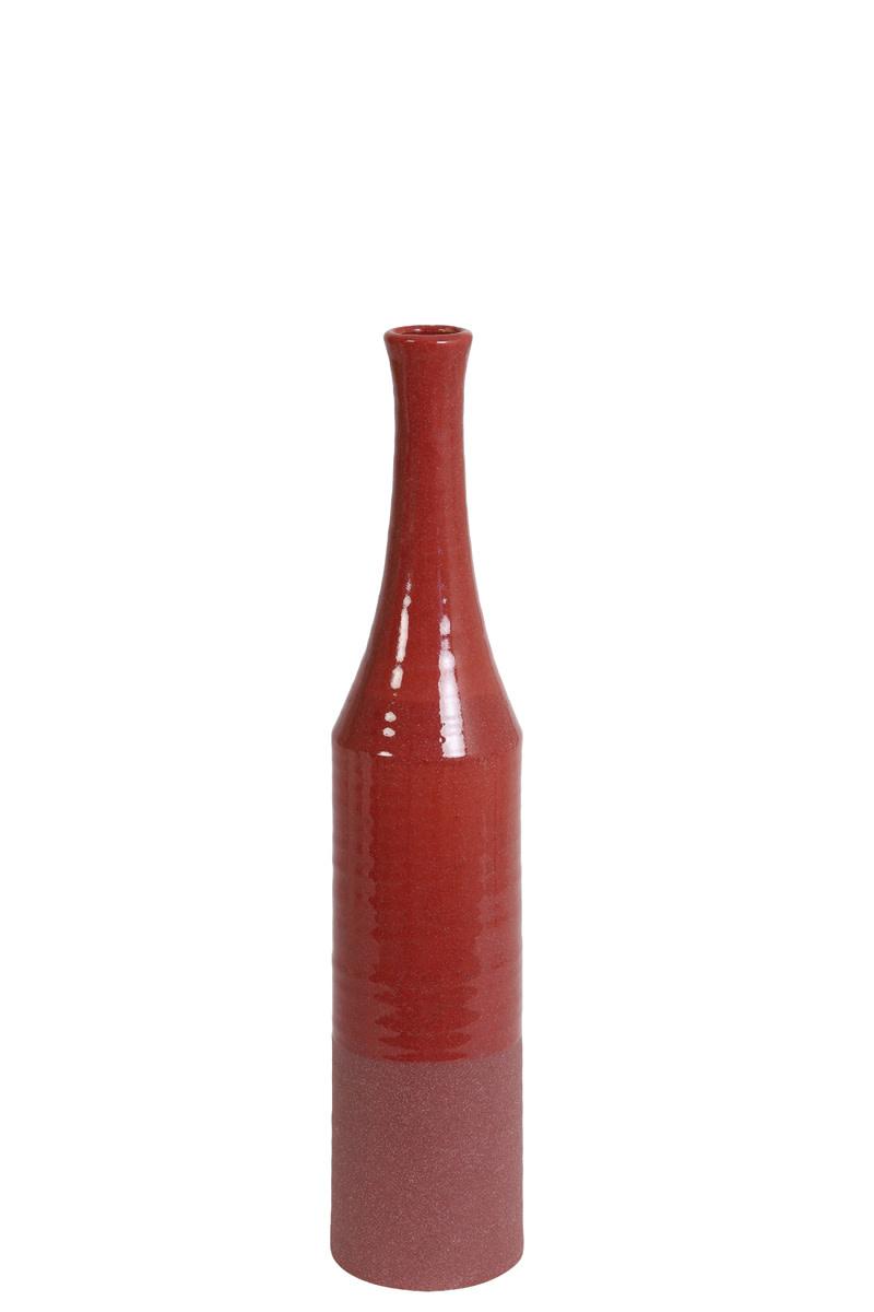 Fles vaas Robijn Rood - Large-1