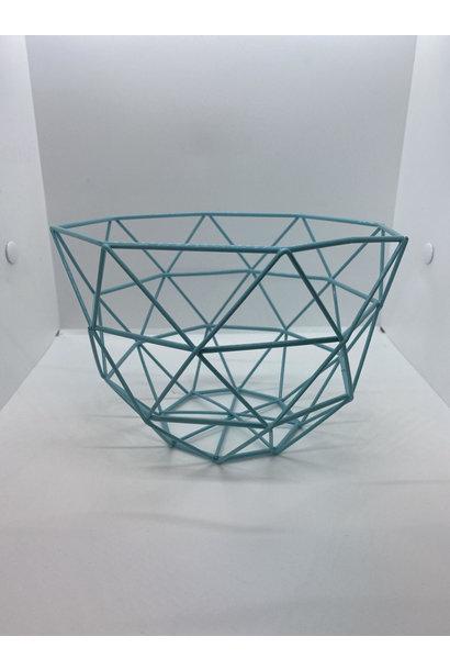 Iron Basket Blue Small