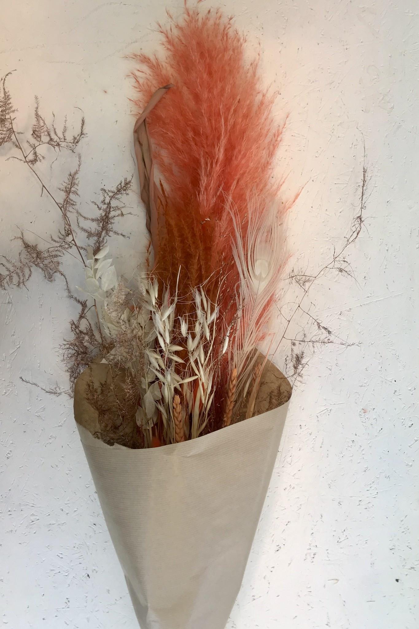 Droogboeket Coral Crush-2