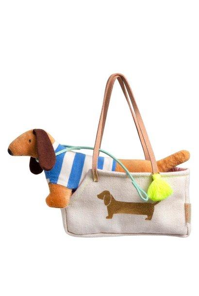 Hond in Zakje