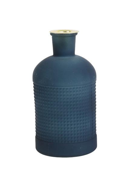 Fles / Kandelaar Elisa Mat Glas Blauw