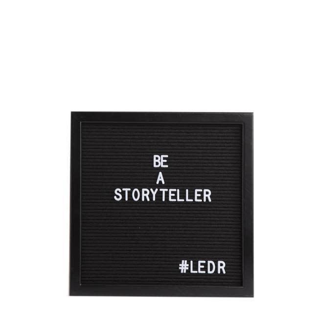 Letterbord All Black-1