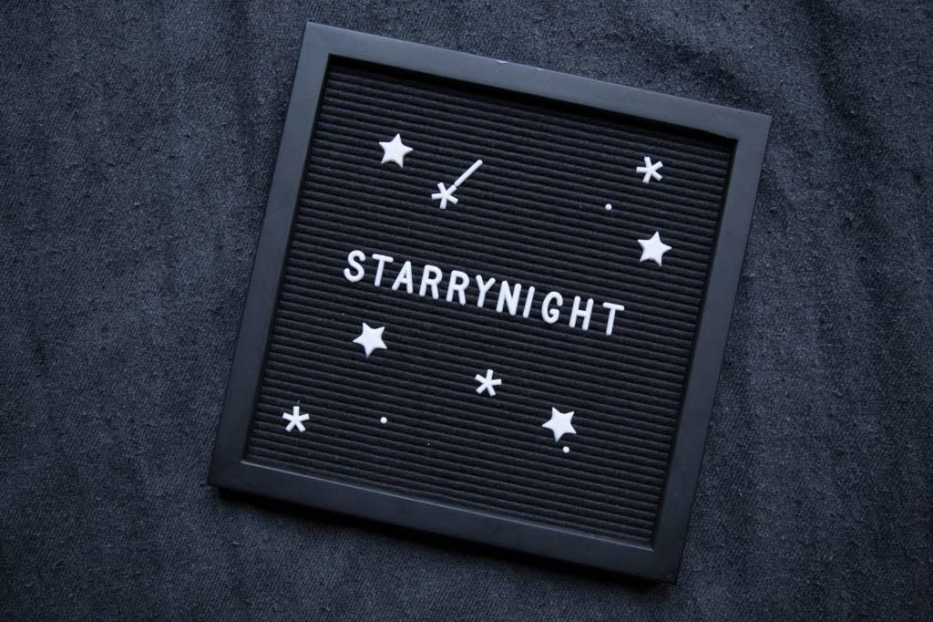 Letterbord All Black-2