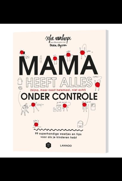 """Boek """"Mama heeft alles onder controle"""""""