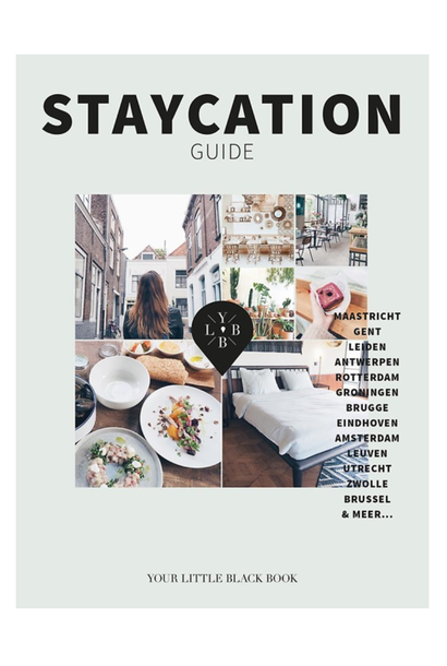 "Boek ""Staycation Guide"""