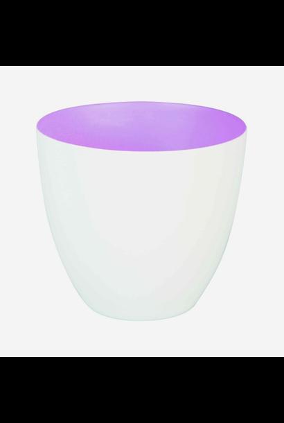 Tea Light Holder Large Lilac