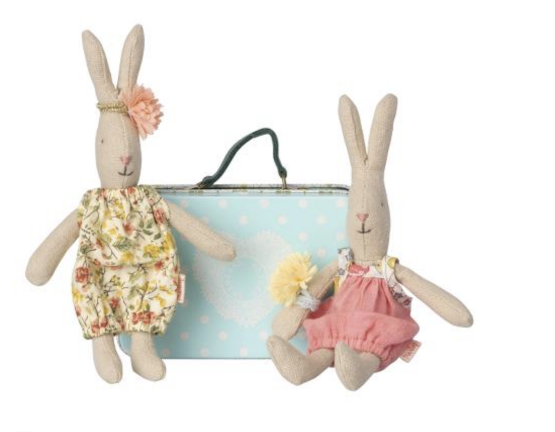 Micro rabbit w. 2 sets of clothes-1