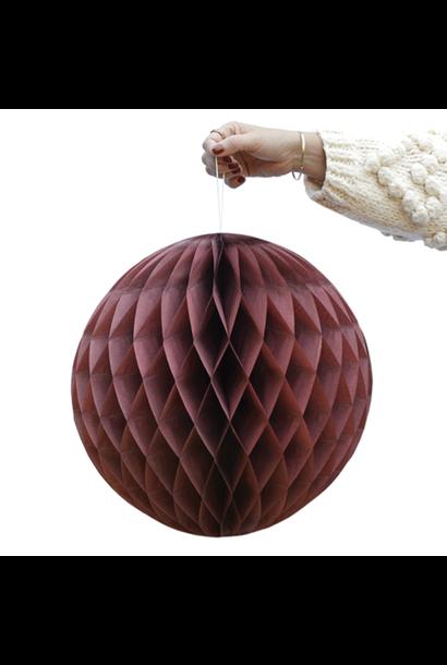 Red Merlot Honeycomb Balls