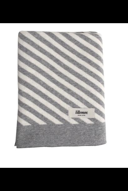 Blanket Striped Grey