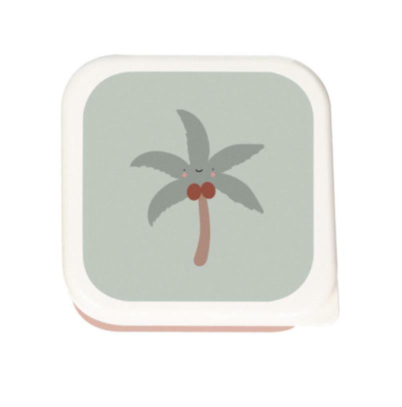 Tropische Lunchbox set van 3-4