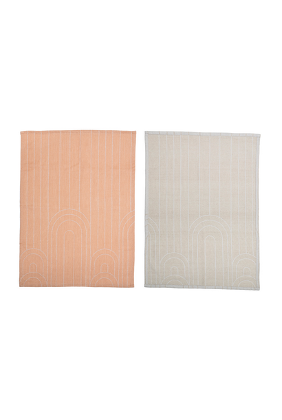 KitchenTowel Peach
