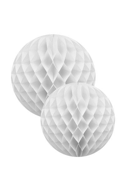 White Honeycomb Balls