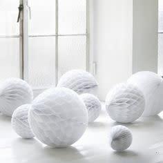 Honingraat Ballen Wit-3
