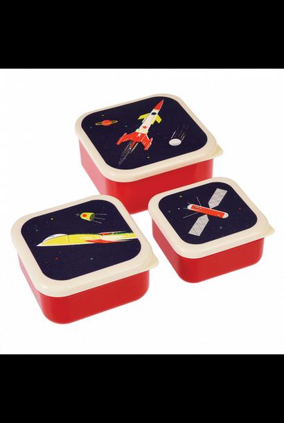 Space Lunchbox Set van 3