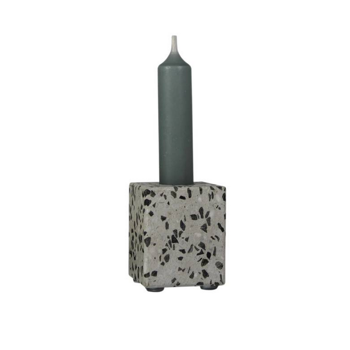 Candle Holder Terrazzo - Klein-1