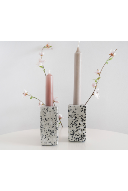 Candle Holder Terrazzo - Groot