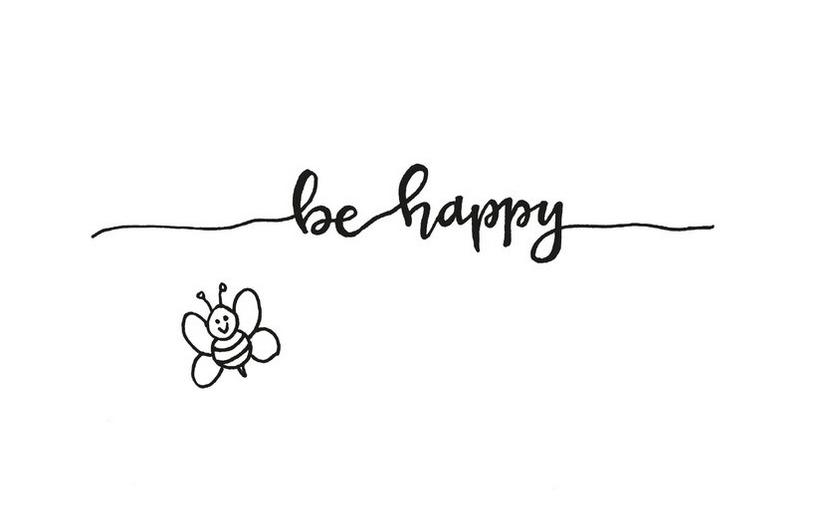 Postkaart Be Happy-4