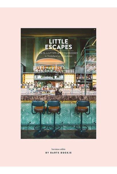 Boek - Little Escapes 208 Slaaptips & Eetadressen In Nederland en Vlaanderen