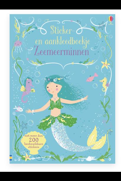 Zeemeerminnen Sticker-en aankleedboek