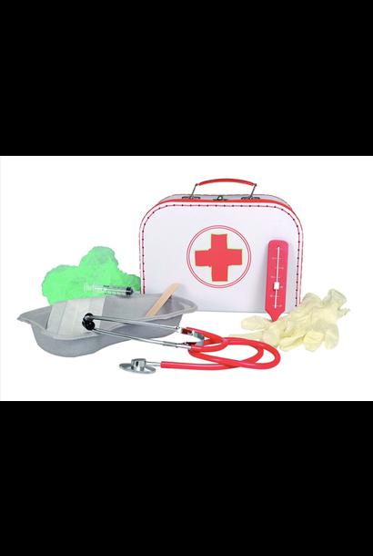 Dokterskoffer met accessoires