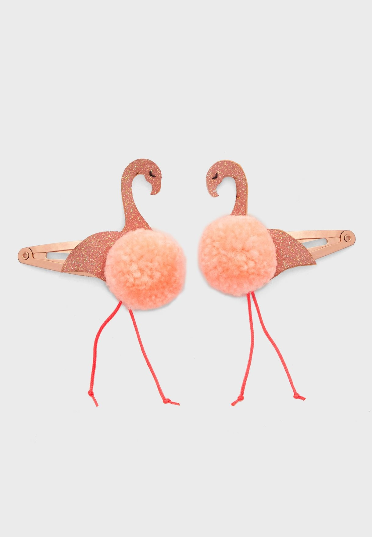 Haarspelden Flamingo-2