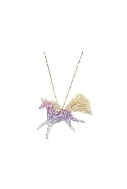 Halsketting Glitter Eenhoorn