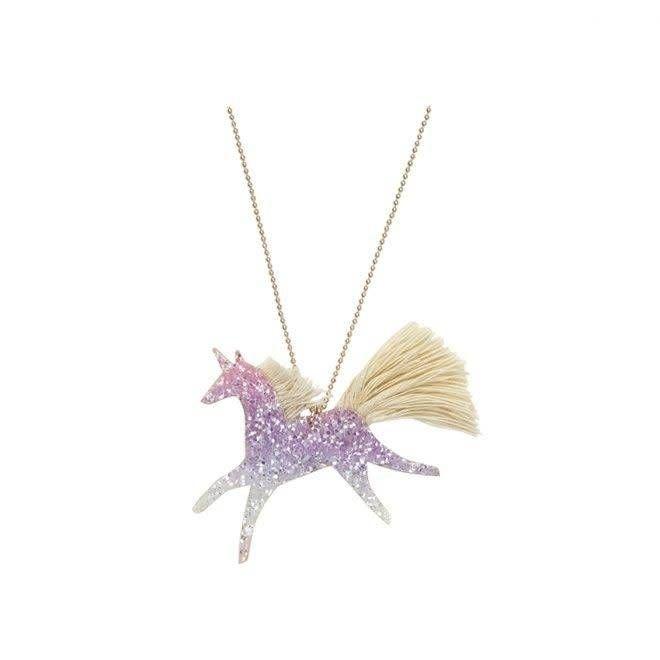 Halsketting Glitter Eenhoorn-1