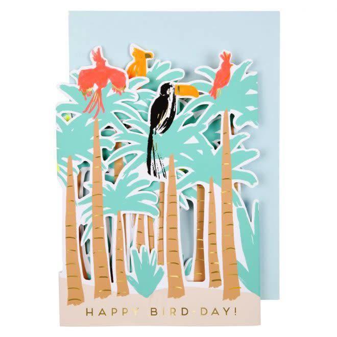 Wenskaart Tropische Vogels-1