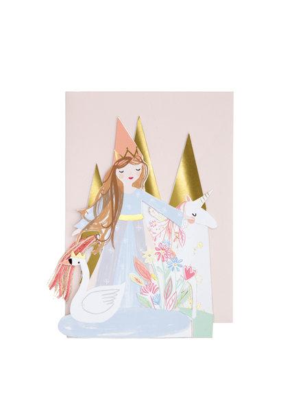 Pop Up Card Princes - Happy Birthday