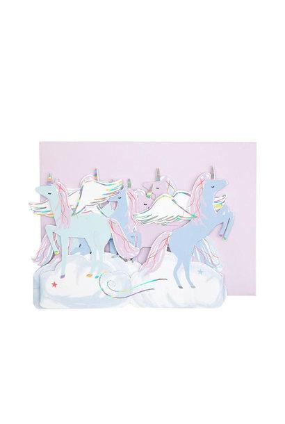 Pegasus Concertina Card