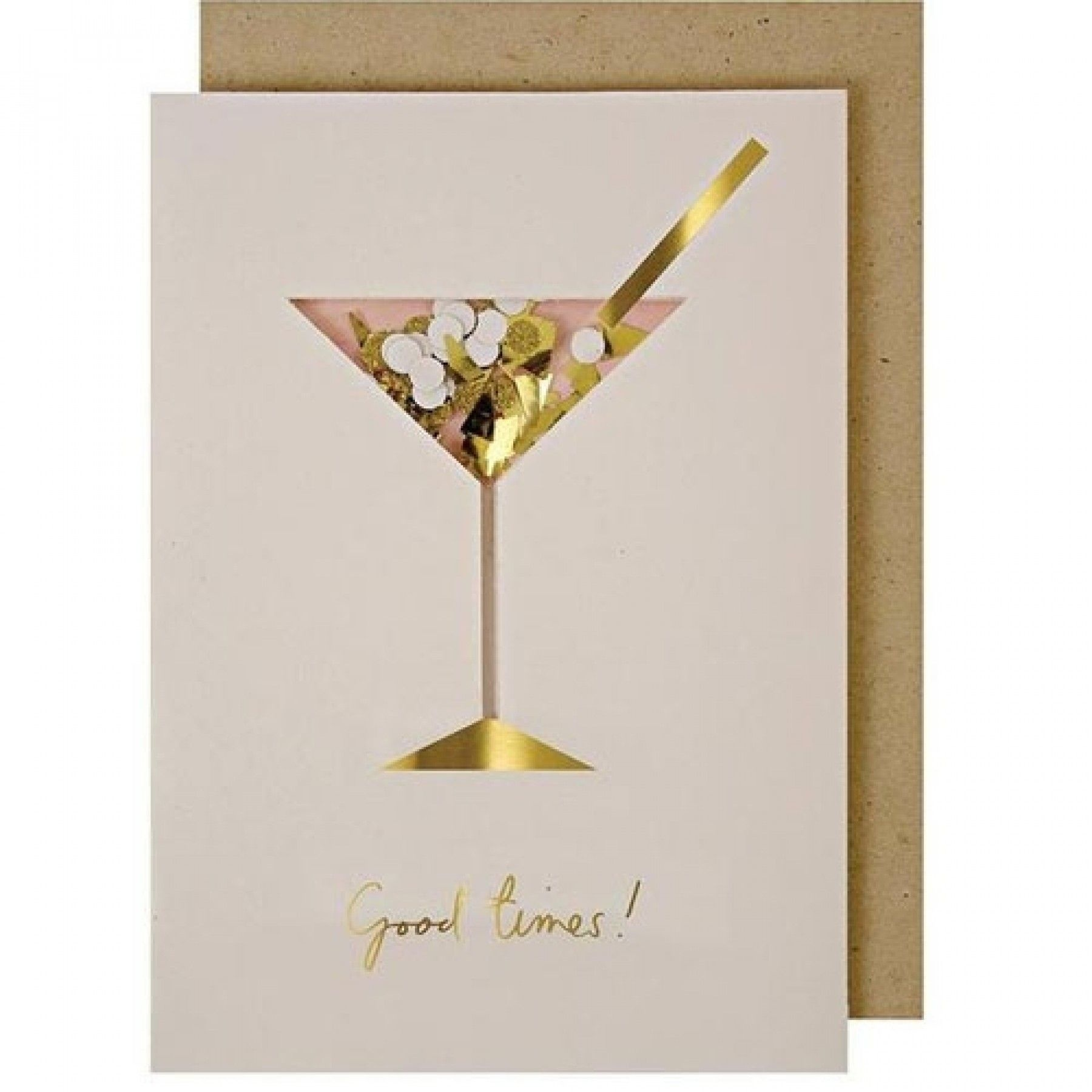 Wenskaart - Cocktail Confetti-1
