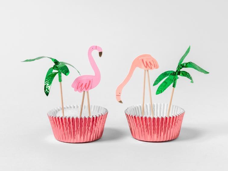 Cupcake Set Flamingo-2