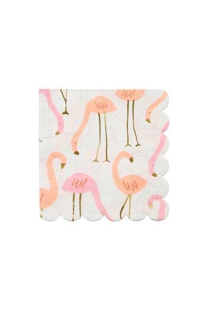Flamingo Napkins - Small
