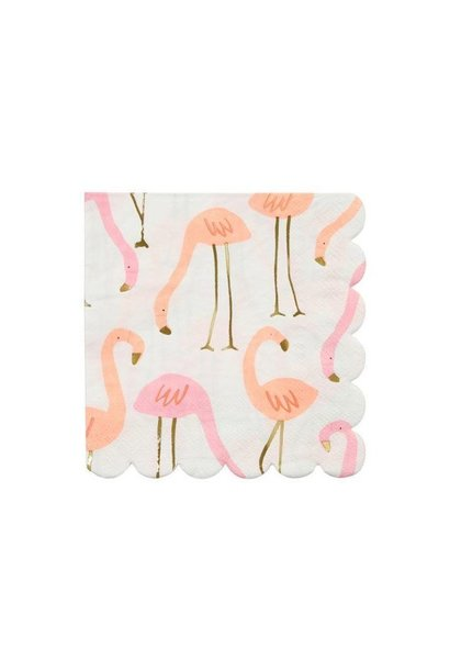 Flamingo Servetten - Smal