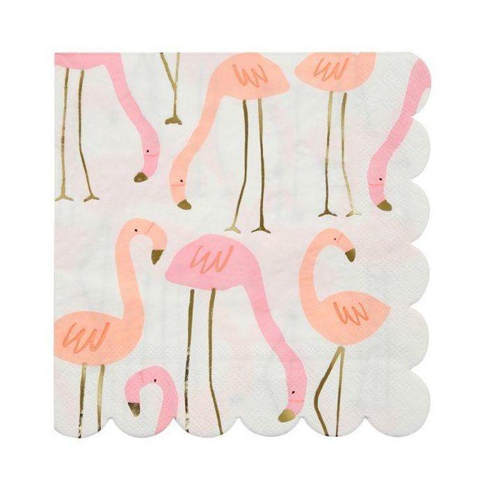 Flamingo Servetten - Large-1