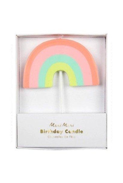 Verjaardagskaars Regenboog