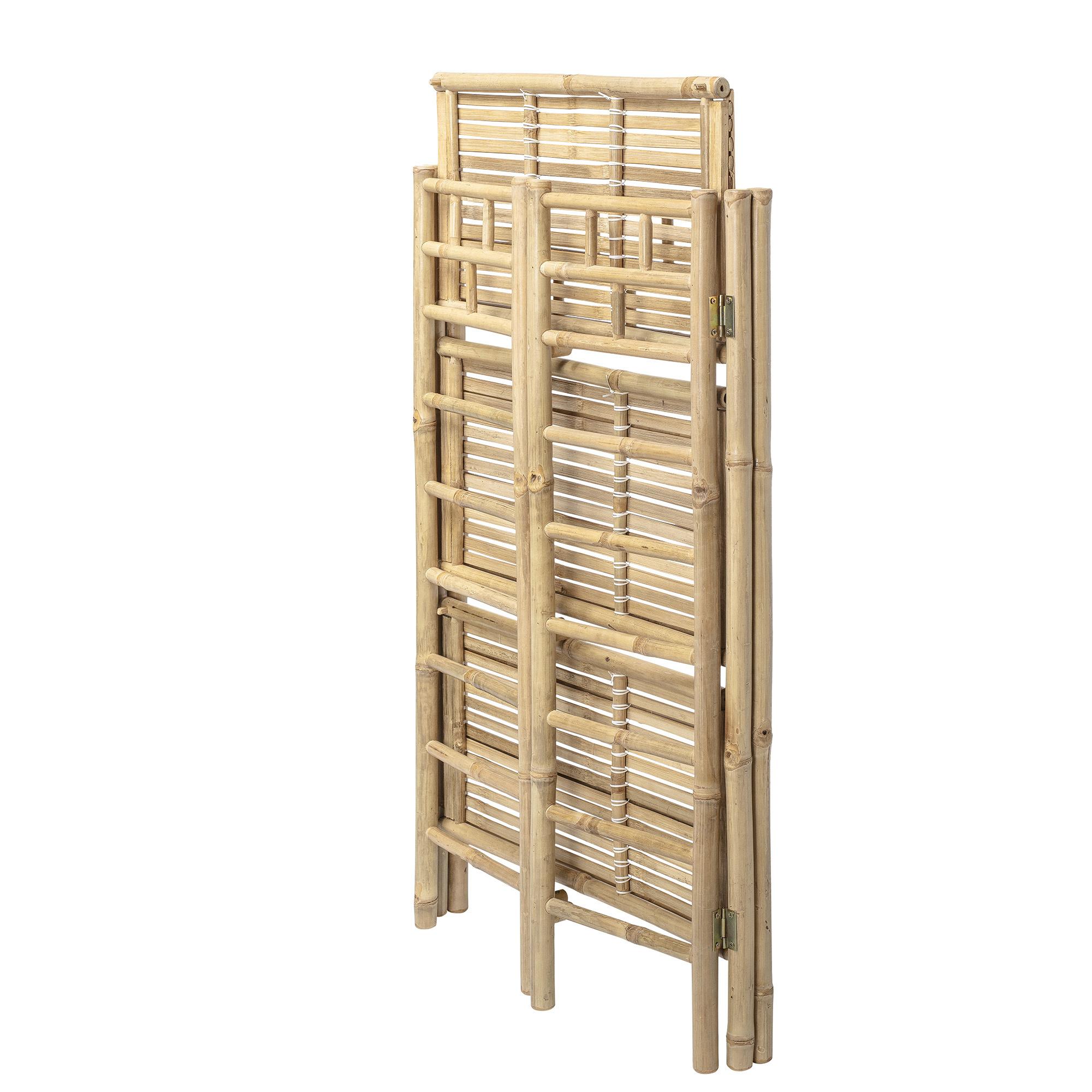 Boekenrek Naturel Bamboe-2