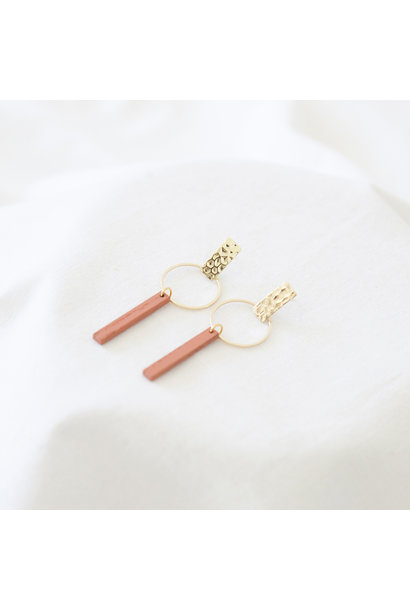 Earrings Coral - Hope Together 03