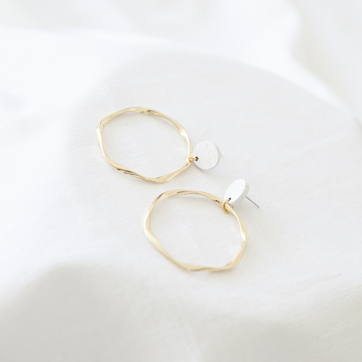 Oorbellen Wit - Hope Together 02-1