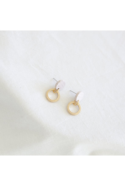 Oorbellen Zachtroze - Hope Together 05