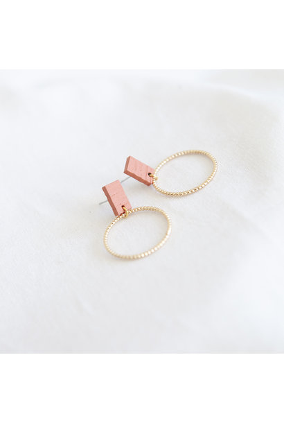 Oorbellen Koraal - Hope Together 06