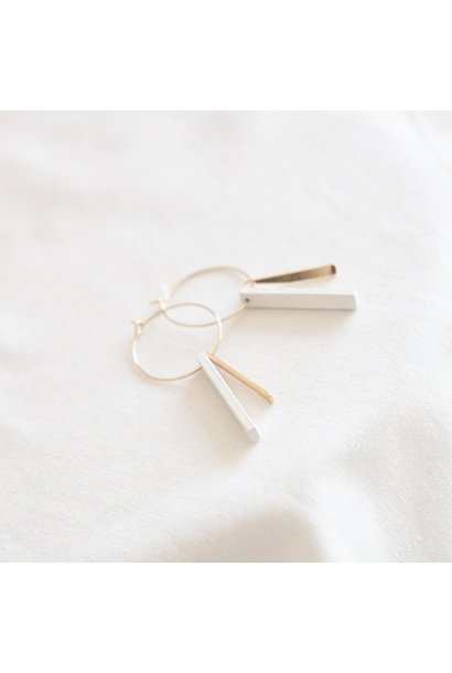 Oorbellen Wit - Hope Together 12