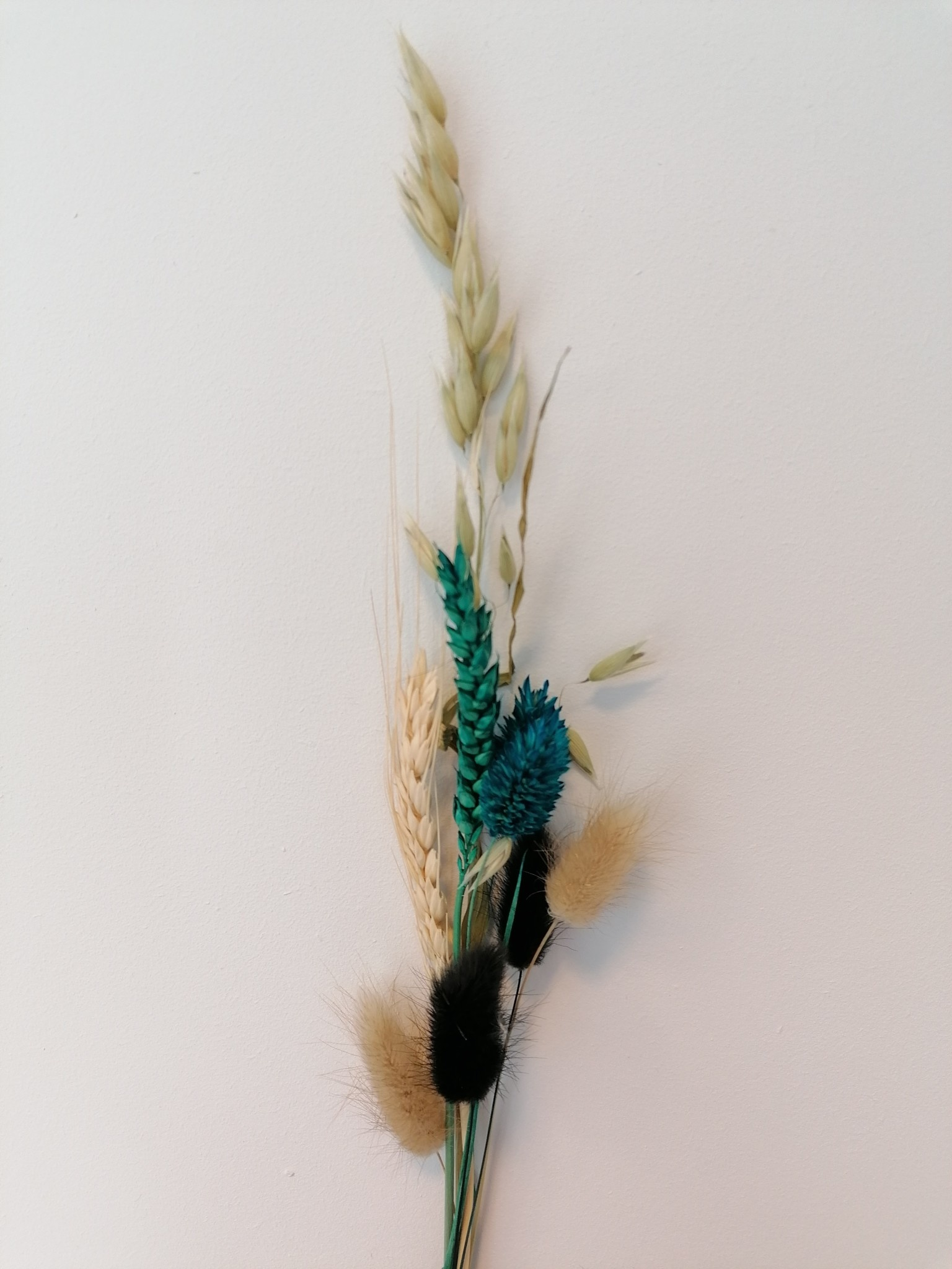 Mini Droogboeketje Appelblauwzeegroen-1