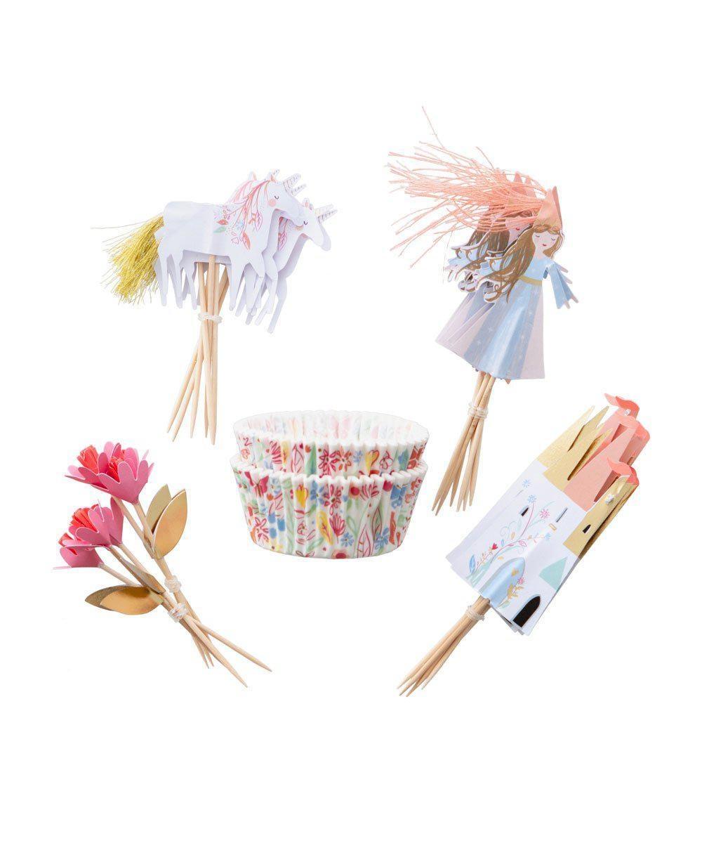 Cupcake Set - Magische Prinses-2