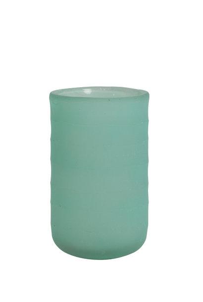 Vase Danilo Mat Turquoise - Large