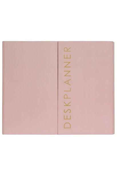 Deskplanner Roze